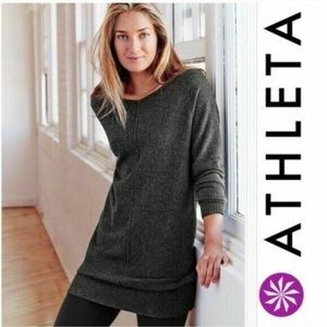 Athleta Adi Mudra Cashmere Sweater Tunic/Dress